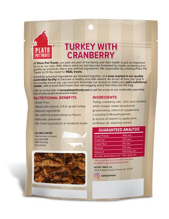 Plato Plato Grain Free Turkey & Cranberry