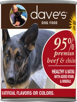 Dave's Dave's Dog 95% Beef and Chicken