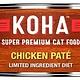Koha Koha Cat LID Chicken Pate 96% 5.5oz
