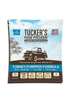 Tucker's Tucker's Frozen Food Turkey & Pumpkin 6#