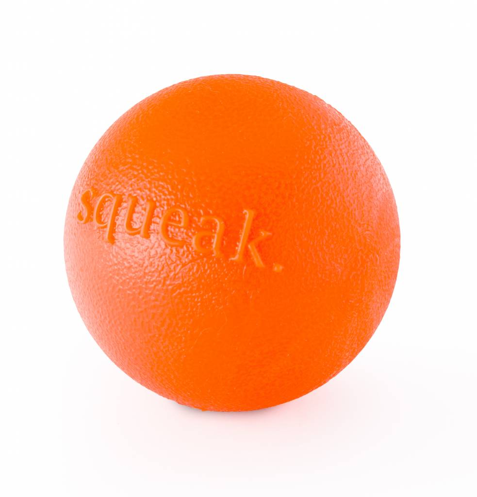 Outward Hound Planet Dog Squeak Orange