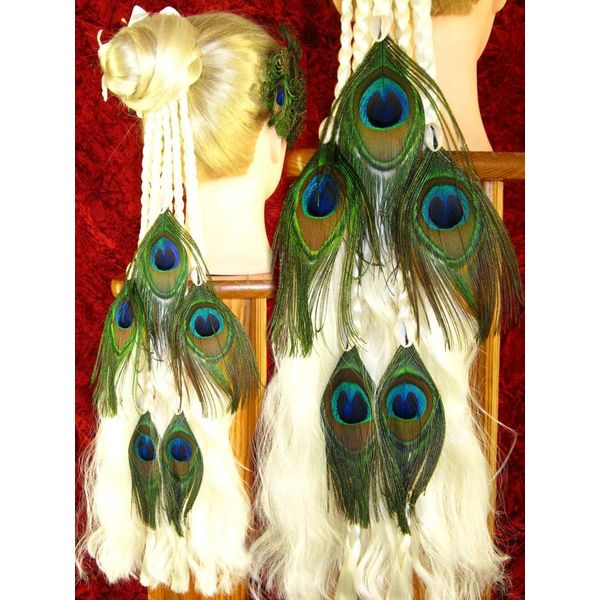 Magician Peacock 10 Hair Piece M