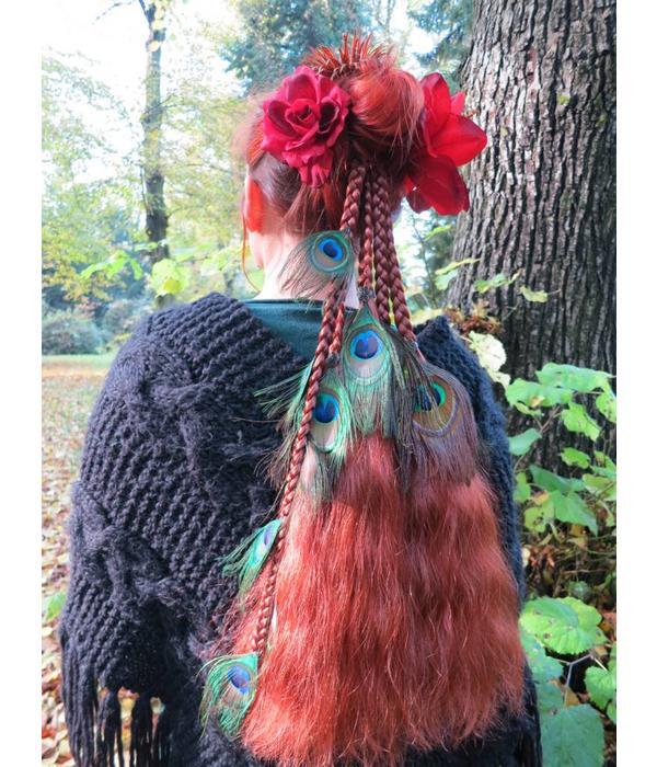 Magician Peacock Fairy 17 Hair Piece M