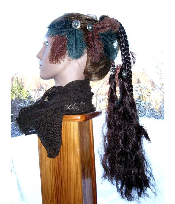Tribal Ostrich Feather Fascinator