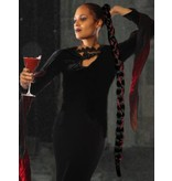 Rapunzel Braid Extra wine red black
