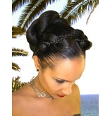 Supersize Fantasy Twist Bun & Braid color 1, black