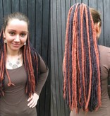 Black Brown Steampunk Dreads % Bargain