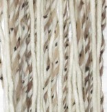 Clip-in dreads snow leopard, blonde
