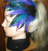 Feather Fascinator Mermaid in Paradise