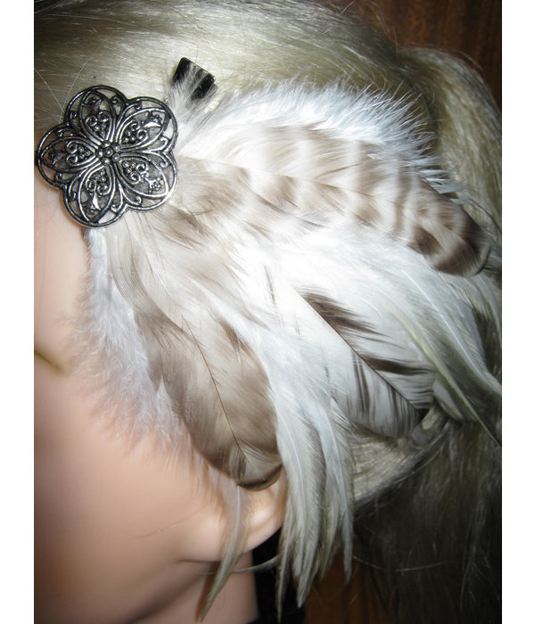 Feather Fascinator Lightfairy