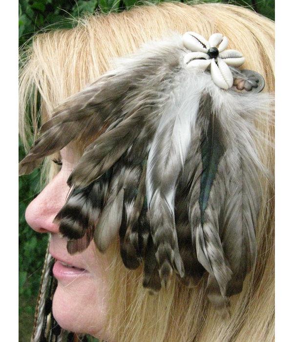 Feather Fascinator Leo