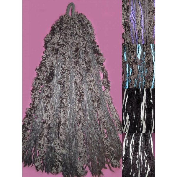 Gothic Lolita Fur Dreads % SALE