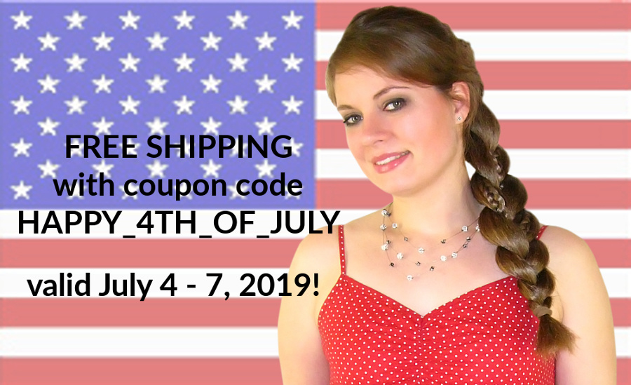 Happy 4th of July - FREE SHIPPING!