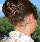 Snow White Braid Pair for pigtails