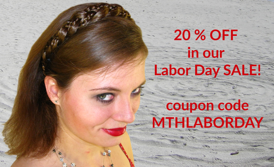Labor Day Sale 20 % OFF