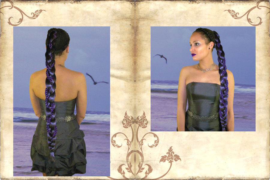 Extra long & lush diva braid in fancy and natural hair colors!