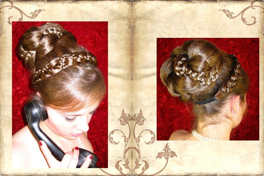 Supersize Fantasy Bun - the glamorous hollywood diva look!