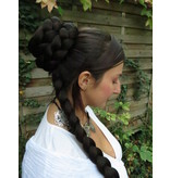 Princess Leia Ceremonial Braided Bun with Braid