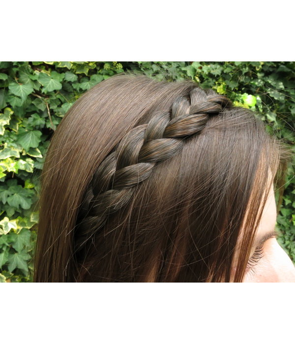 Boho Headband thin, flat braid