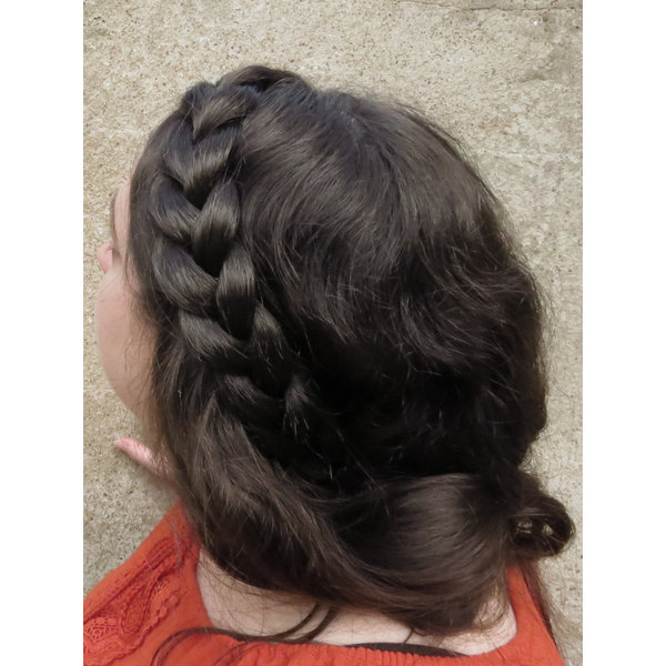 French Braid Headband, thin & wide