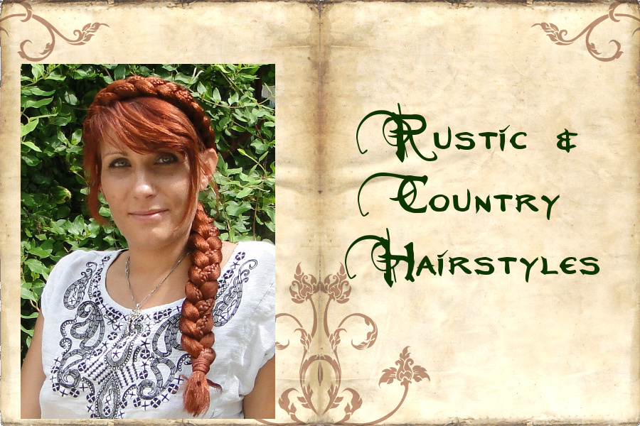 Braided Rustic & Country Hair Styles