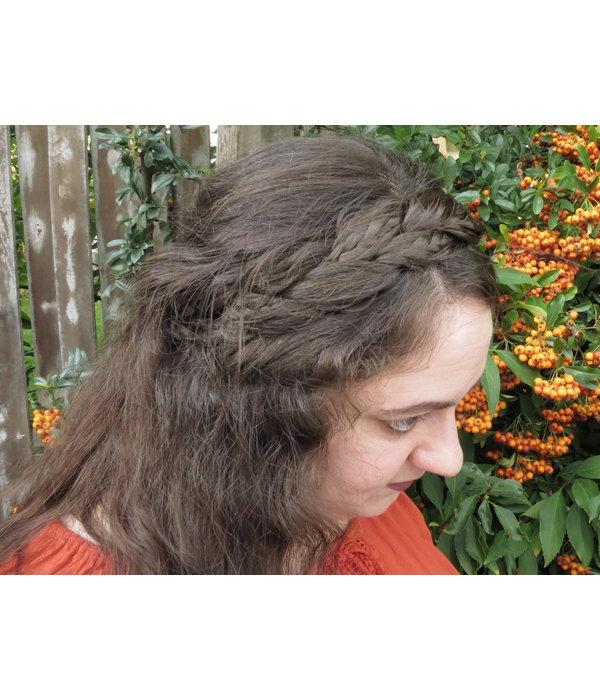 Rapunzel Braid Headband messy look