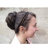 Double Braid Headband, twisted & extra thin