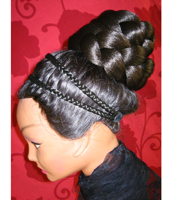 Braided Bun & Braid L extra size