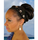 African American Twist Bun Hairpiece M