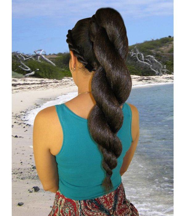 Afro Twist Bun L, voluminous hair