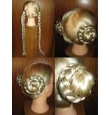 Tribal Hair Buns natural, size S