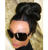 Supersize Hip Hop Twist Bun, voluminous hair