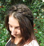 Messy French Braid Headband, chunky & wide