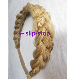 Rapunzel Braid Headband medium, messy look