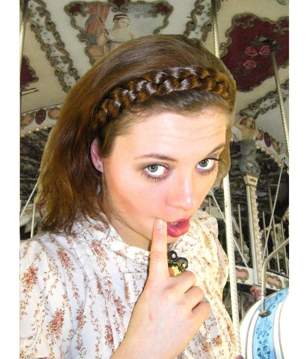 Braid Headband Gretel, medium