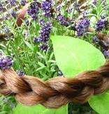 Messy French Braid Headband, flat & slim