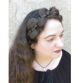 Messy Butterfly Braid Headband, thick