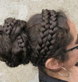 Double Messy Braid Headband, flat