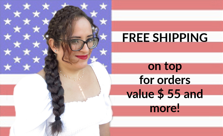 free shipping for all orders over $ 55in our web shop