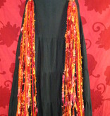 Belly Dance Belt & Hair Bohemian Bonfire Peacock