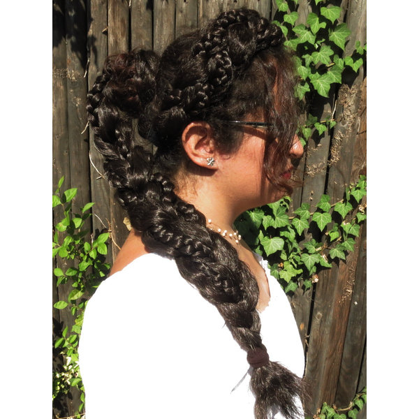 Messy Fantasy Braid, Undone Look