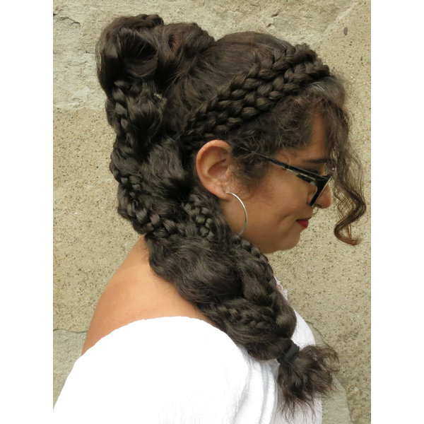 Messy Supersize Fantasy Braid