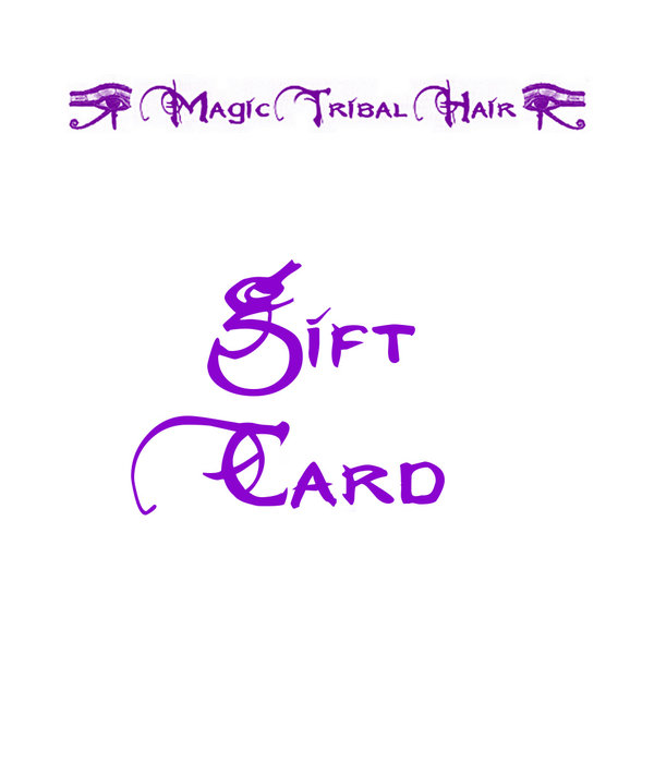 Gift Card/ Gift Coupon, pick desired value!