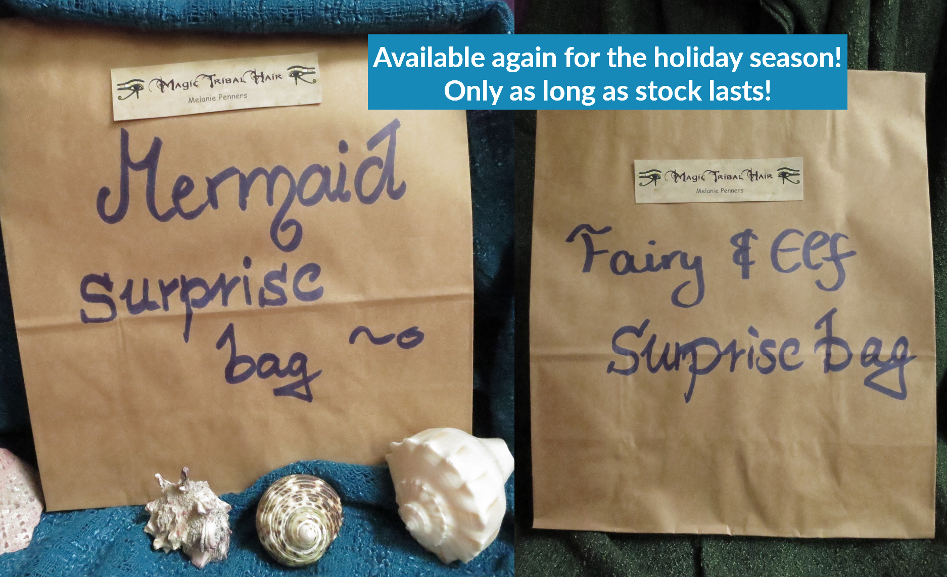 All surprise bags available again!