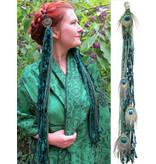 Emerald Fairy (Peacock) yarn fall belt clip