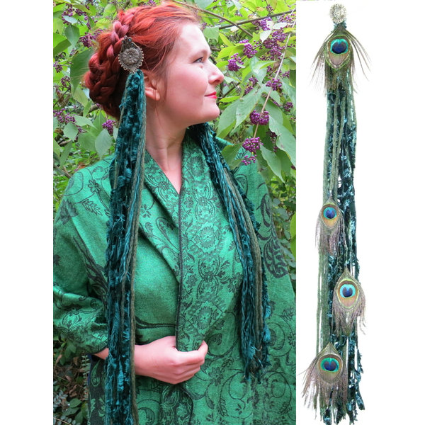 Emerald Fairy (Peacock) tassel