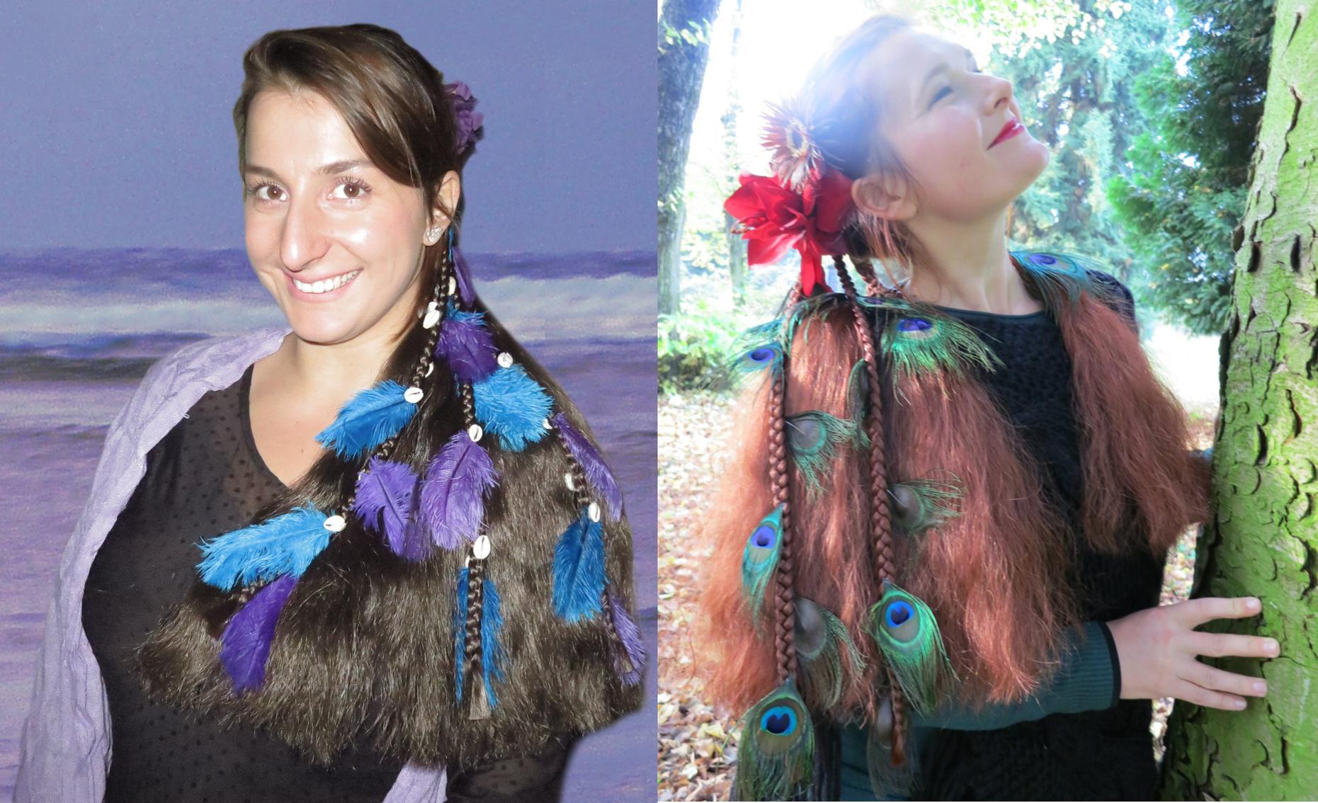 Fantasy Mermaid & Magician Hair Falls