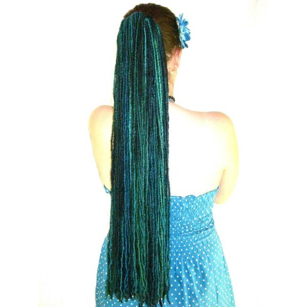 Dark Mermaid Dreads