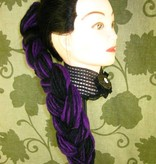 Purple Black Goth Dread Fall