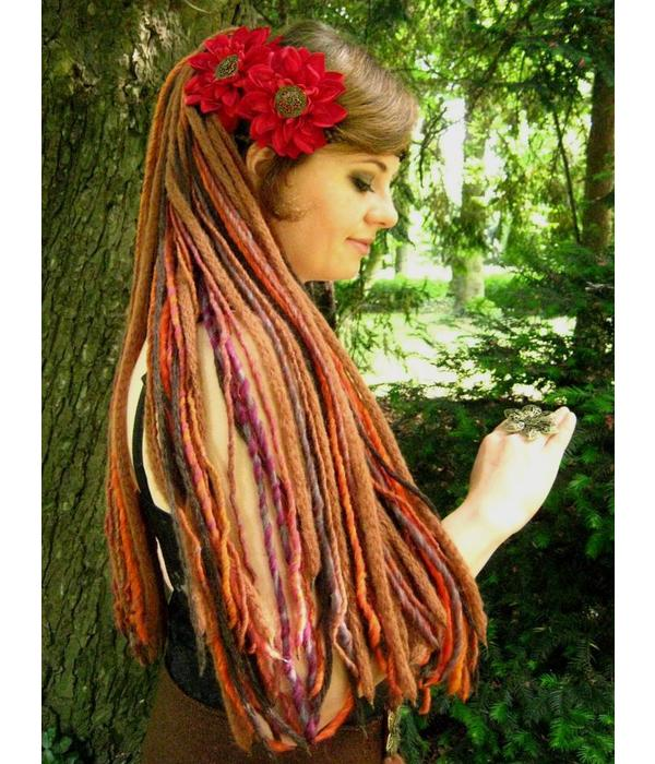 Dread Fall Gipsy Flower Dreads